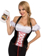 Beer Girl Corset Top - Oktoberfest Costumes